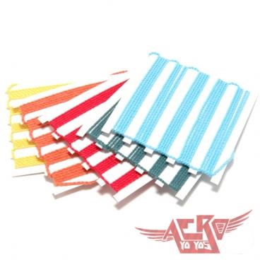 AERO Веревки разных цветовых оттенков для Йо-Йо в количестве пяти штук