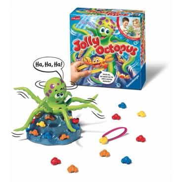 Осьминог Jolly Octopus имеющий восемь ног представленный виде настольной веселой игры<br /><br />
