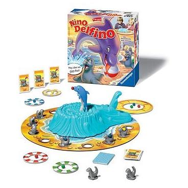 Детская интересная игра Дельфин Нино предназначенная для настольного использования