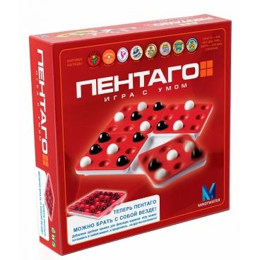 Улекательная Настольная игра Пентаго создана специально для детей.