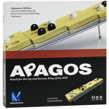Apagos - окунись в мир логики и приключений с настольной игрой