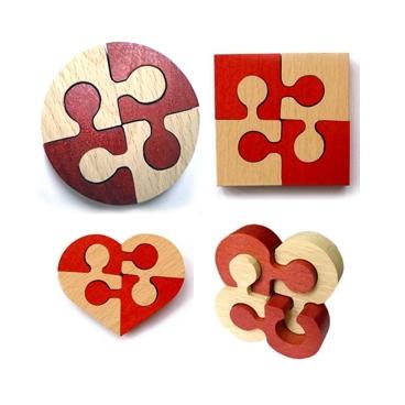 Неразберишка квадрат, клевер, шайба,цветок понравится детям, которые любят интересные головоломки.