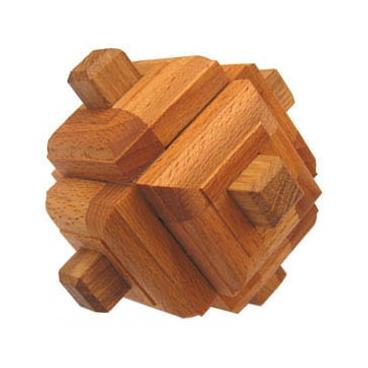 Интересная деревянная головоломка Узел Зонневельда понравится вашим детям.