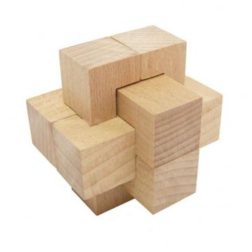 Превосходный досуг вместе с головоломкой для детей Узел простейший 6 элементов (малый).