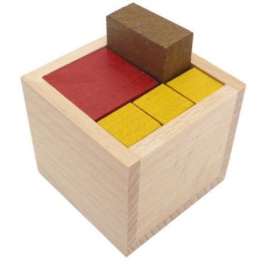 Упаковка новая увлекательная головоломка выполненная из дерева.