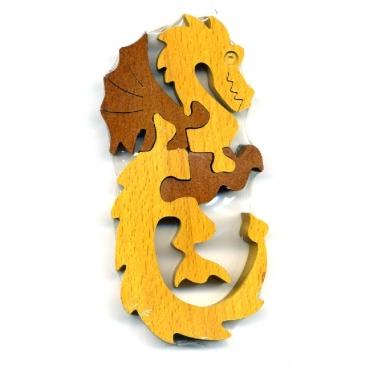 Новая увлекательная детская головоломка получила название Дракон Неразберишка