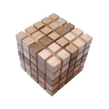 Увлекательно интересная головоломка для детей Куб из 4-х элементов (мини).