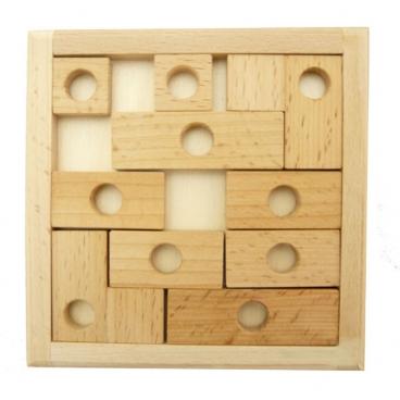 Деревянная игра для детей и взрослых «Мамина головоломка» - старинная увлекательная головоломка.
