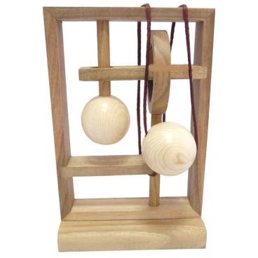 Захватывающая деревянная головоломка «Меледа» - оригинальная, интересная и красивая игрушка-забава для всей семьи.