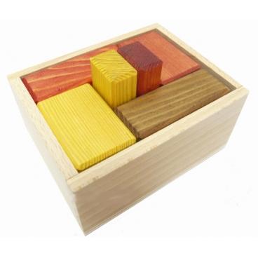 Оригинальная и увлекательная деревянная головоломка для детей от 7 лет «Недетские кубики большие(10х8х5см)».
