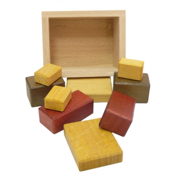 Недетские кубики малые (7,5х6х3,5см) – непростая и увлекательная деревянная головоломка для детей от 7 лет.