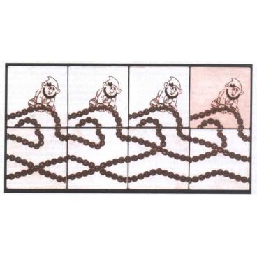 Красочная и увлекательная детская головоломка «Златая цепь» - удобный и компактный вариант для спокойного проведения досуга.