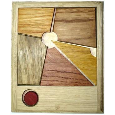 Очень трудная и интересная головоломка, изготовленная из дерева «Сыр в мышеловке (дерев)»- развивает мыслительную деятельность и сообразительность.