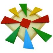 Развивающая игра-головоломка Четыре цвета