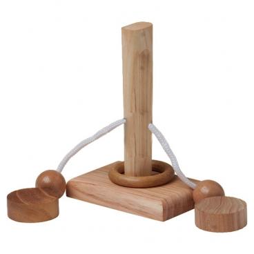 Шнурковая головоломка №2 понравится детям и их родителям, которые умеют с пользой проводить свой досуг.