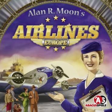 Занимательная настольная игра Европейские Авиалинии (Airlines Europe) – игра высокого уровня для настоящих летчиков.