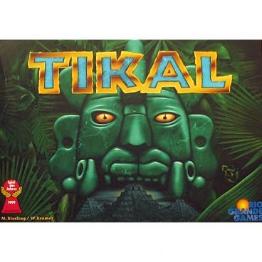 Увлекательная настольная стратегия с разнообразными красочными элементами «Путишествие в древний Тикал (Tikal)».