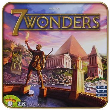 Исторические строительство 7 чудес (7 Wonders) – безпорно одна из лучших стратегических настольных игр, которая заинтересует всю семью!
