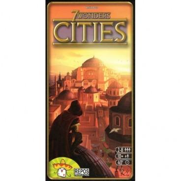 Красочное дополнение 7 Чудес: Города (дополнение) (7 Wonders: Cities) – это полезное приложение к увлекательной настольной игре 7 чудес.