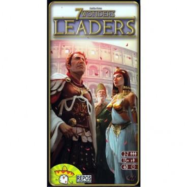 7 чудес: Предводители (дополнение) (7 Wonders: Leaders) – это дополнительные персонажи к увлекательной настольной игре 7 чудес.
