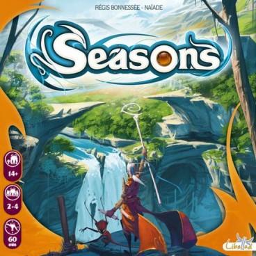 Магические Времена года (Seasons) – это красивая стратегическая карточная игра с потрясающими иллюстрациями.