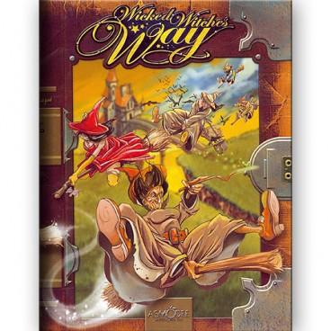Настольная игра время очень вредных ведьм поможет развить фантазию вашего ребенка