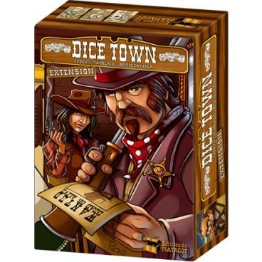 Настольная игра под названием Дайс Таун: Траунд в дополнительном варианте