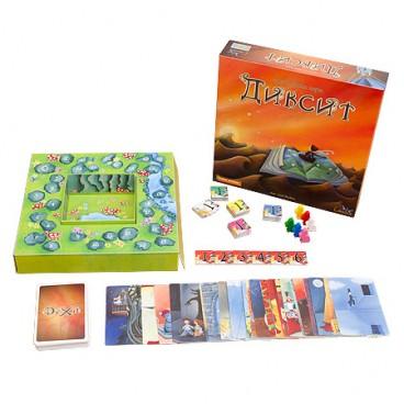 Настольная игра Дискит рассчитана на небольшую и большую компанию друзей.