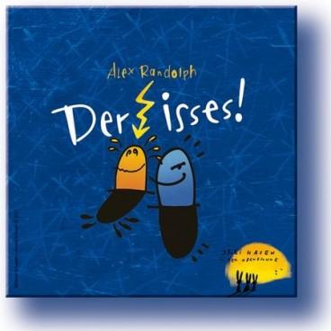 Тот самый! (Der isses!) - Поле, фишки, монеты и карточки. Все это вы сможете попробовать, купив игру <br /><br />