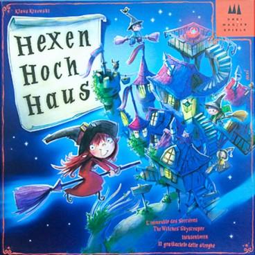 Увлекательная детская игра Ведьмина Башня (Hexenhochhaus) поможет малышам окунутся в мир путишествий.