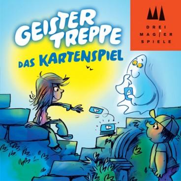 Азартная карточная игра Лестница привидений, карточная игра (Geistertreppe, Das Kartenspiel) с простыми и оригинальными правилами<br /><br />