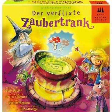 Магическое зелье (Der verflixte Zaubertrank) - изучайте все премудрости магии по приготовлению зелья в игре.