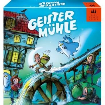 Мельнику в игре Мельница привидений (Geistermuehle) нужна помощь его детишек