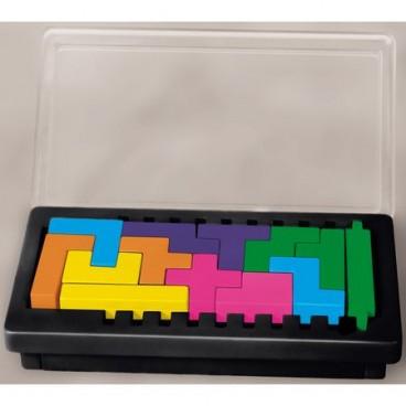 Продолжение популярной игры Катамино (Katamino) сделано в более компактной версии Катамино дорожная (Katamino Travel), чтобы можно было играть даже в пути